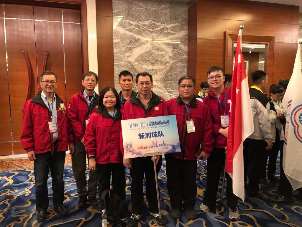 第二十届亚洲象棋锦标赛-成绩